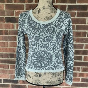 Cotton Emporium floral print cropped sweatshirt